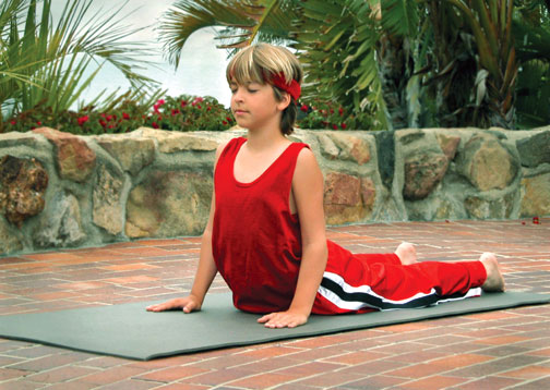 TriYoga Kids DVD, yoga for kids, yoga for children